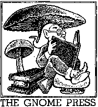 The first Gnome Press logo