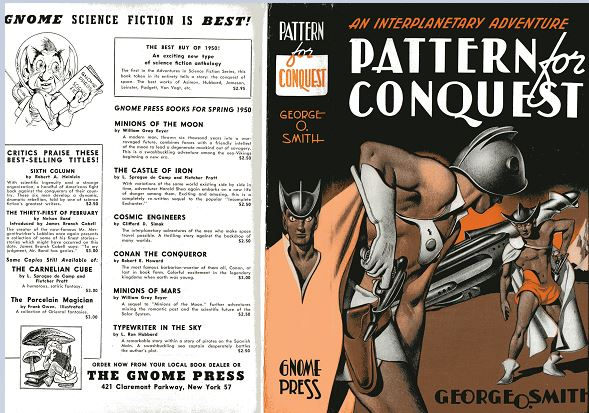 Pattern for Conquest front jacket cover