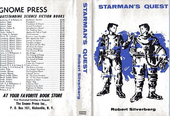 Starman's Quest jacket front