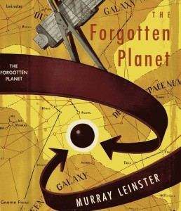The Forgotten Planet map cover