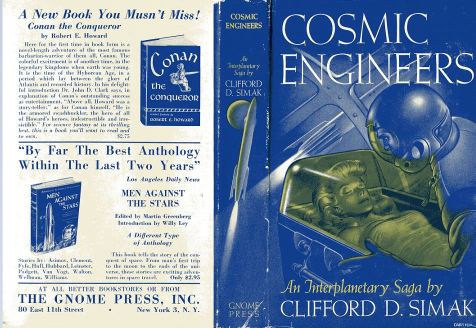Cosmic Engineers dust jacket