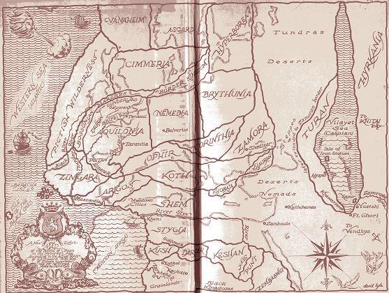 Kyle map from Conan the Conqueror