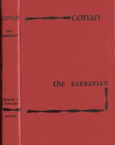 Conan the Barbarian red cover