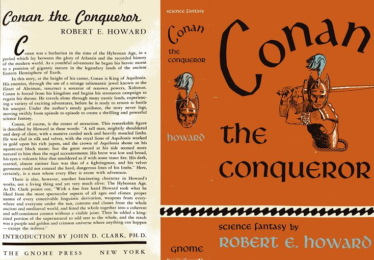 Conan the Conqueror jacket cover