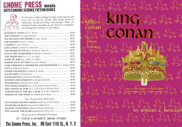 King Conan jacket front