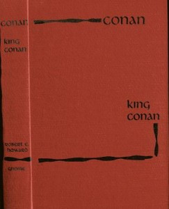 King Conan red cover