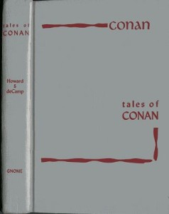 Tales of Conan gray boards cover