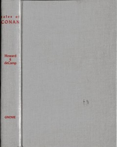 Tales of Conan gray cloth cover