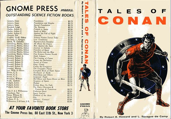 Tales of Conan jacket front