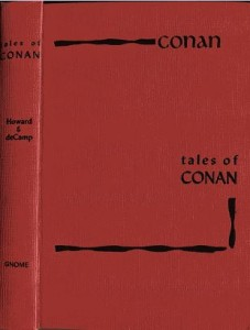 Tales of Conan red boards cover