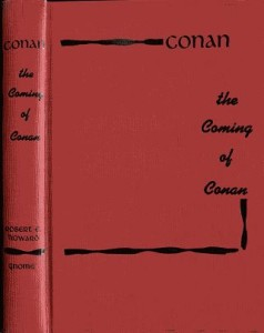 The Coming of Conan red cover