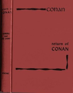 The Return of Conan cover