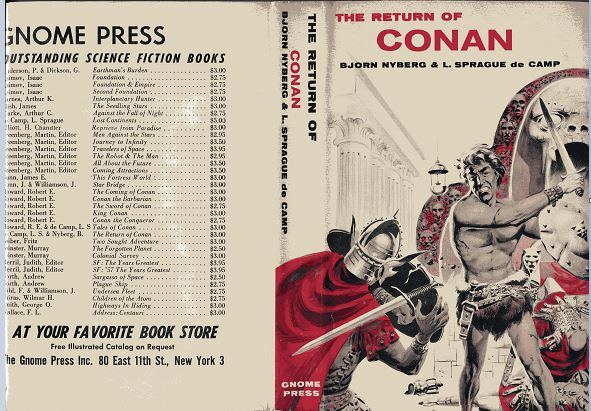 The Return of Conan jacket front