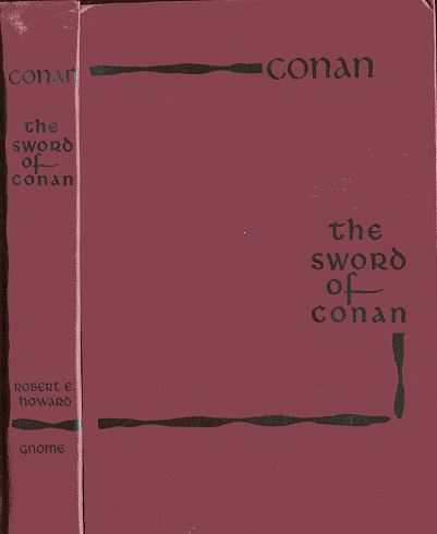 The Sword of Conan front cover