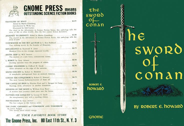 The Sword of Conan jacket cover