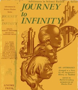 Journey to Infinity second state jacket cover