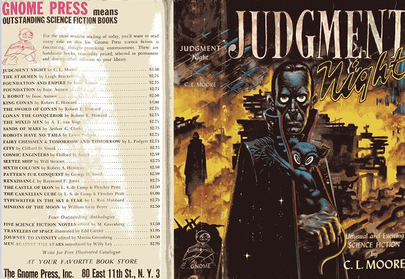 Judgment Night jacket front