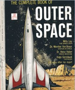 The Complete Book of Outer Space jacket front cover