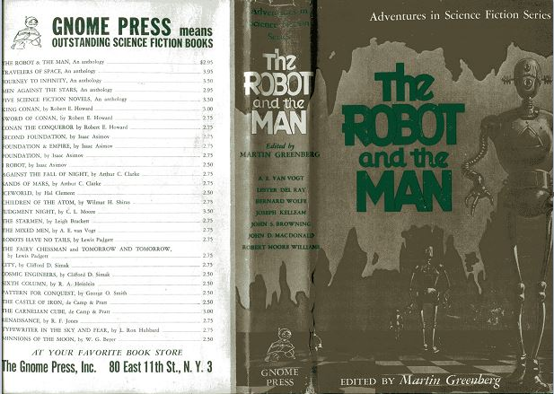 The Robot and the Man jacket front