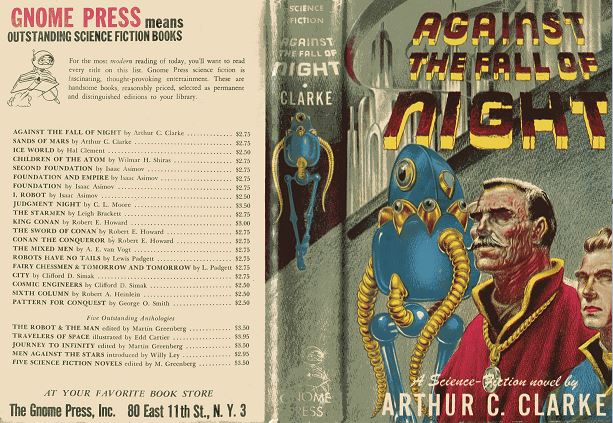 Against the Fall of Night jacket front