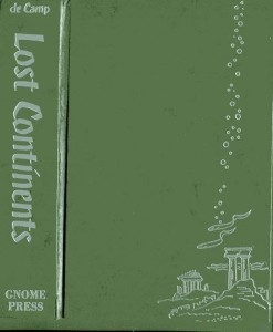 Lost Continents green cover