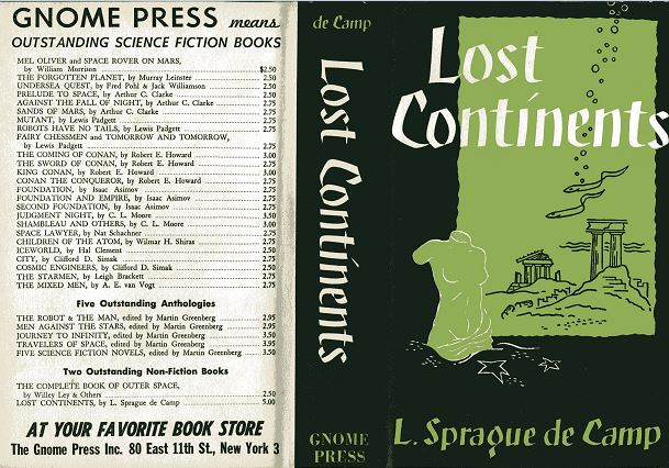 Lost Continents jacket front