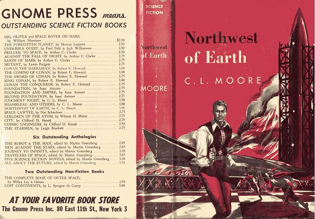 Northwest of Earth jacket cover