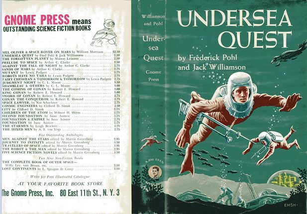 Undersea Quest jacket cover