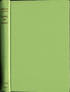 Undersea Quest light green cover