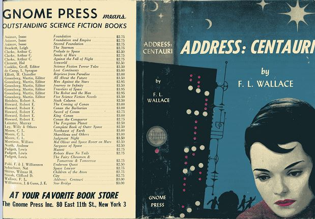 Address Centauri jacket cover