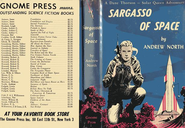Sargasso of Space jacket cover