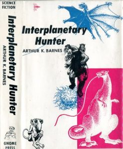 Interplantary Hunter jacket front cover